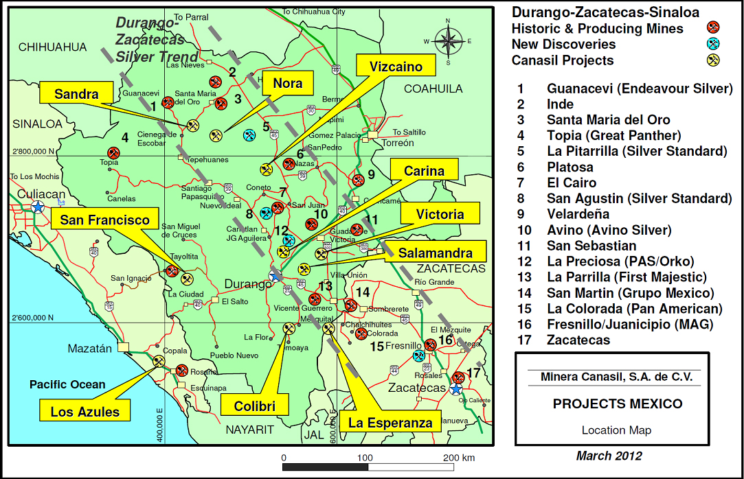 nora project durango mexico canasil resources inc